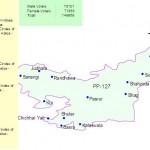 PP-127 Sialkot Constituency Map - Pasrur, Kalass Wala