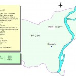 PP-256 Muzaffargarh Constituency Map - Khangarh, Shah Jamal