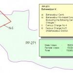PP-271 Bahawalpur Consituency Map
