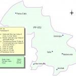 PP-52 Faisalabad Constituency Map - Khurian Wala