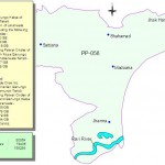 PP-56 Faisalabad Constituency Map - Satiana, Jhamra