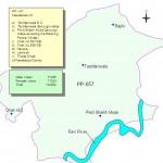 PP-57 Faisalabad Constituency Map - Tandlianwala, Rajiki