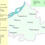 PP-75 Jhang Constituency Map - Bhawana, Khewa, Madoana
