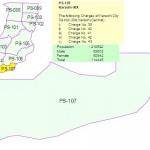 PS 107 Karachi Constituency Map