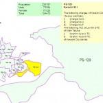 PS-129 Karachi Constituency Map