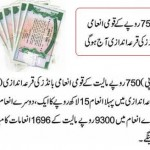 Prize Bonds Draw Result Rs 750 Multan