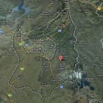 Rawalpindi Distric Satellite Map Detail with Tehsils
