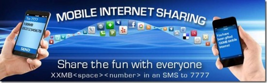 Warid Share Mobile Internet