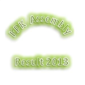 KPK Assembly Election Result 2013