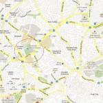 Location Map Divisional Sports Ground Multan