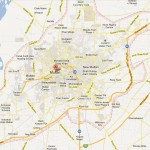 Multan City Street Map