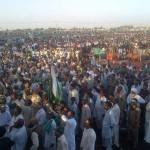 PMLN's Nawaz Sharif Jalsa in Thatta (Sindh)