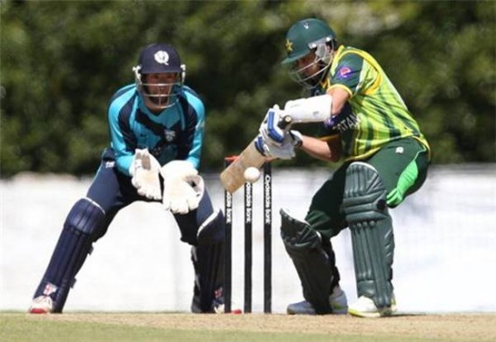 Pakistan Scotland ODI Match Summery