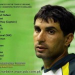 PCB Announced Team Squat For ICC Champion Trophy 2013