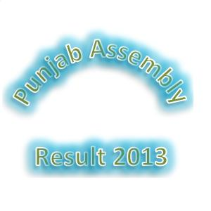 Punjab Assembly Election Result 2013