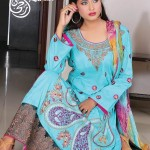 RAKSHI Summer Lawn By Rujhan Fabric