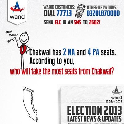 Warid Election Service