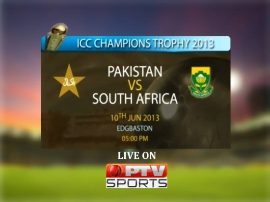 Pakistan VS South Africa Champions Trophy Match