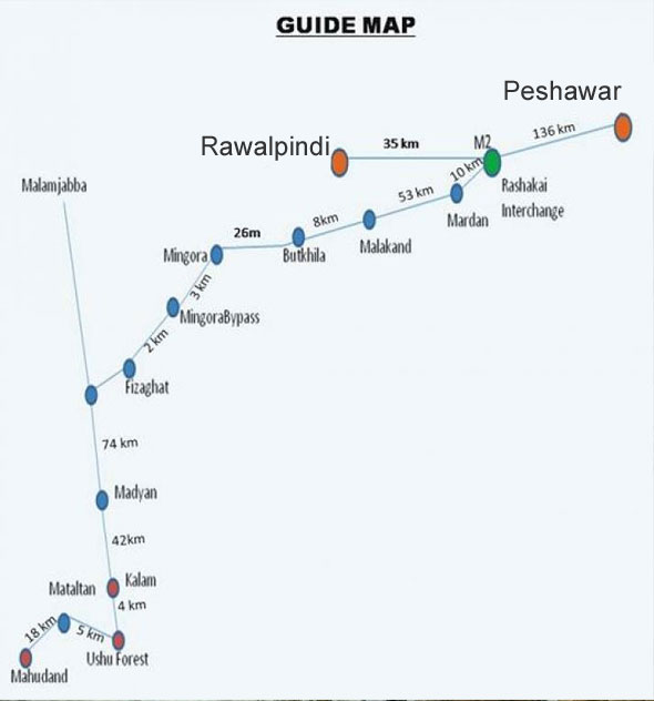 swat kalam mahudand lake guide map paki mag rh pakimag com S.W.a.t Vehicles S.W.a.t CBS