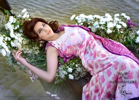 Zaheer Abbas Summer Lawn 10
