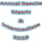 Matric and Inter Results 2013 Logo