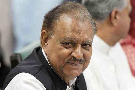 President of Pakistan Mamnoon Hussain