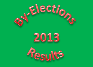 By Elections Results 2013