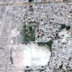 Satellite Location Map Mai Heer, Mian Ranjha Shrine Jhang