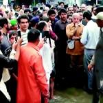 Shahbaz Sharif in Sialkot Flood Area