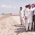 Shahbaz Sharif visit Garh Maharaja and Shorkot flood Area