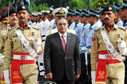 Farewell Guard of Honor to Asif Ali zardari in President House Islamabad