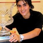 Maria Toorpakai Wazir Won The Nash Cup Title