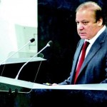 Nawaz Sharif Addressing Unoted Nation General Assembly in New York on September 27, 2013