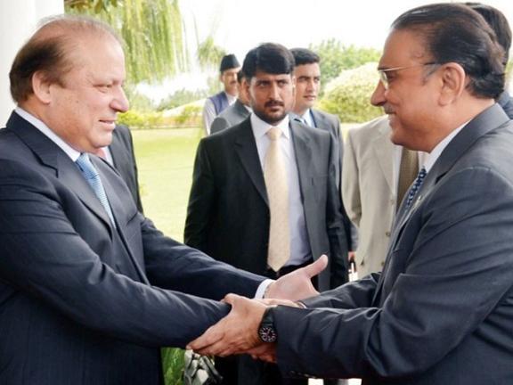 Nawaz Sharif Last Meeting with Asif Ali Zardari in PM House Islamabad