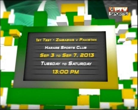 Pak Zimbabwe Test Match