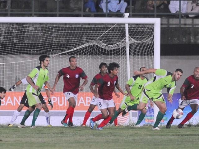 Pakistan Bangladesh Footbal
