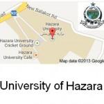 University of Hazara Mansehra Logo