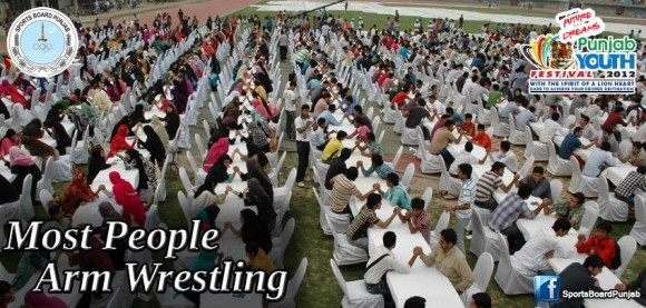 arm wrestling record lahore