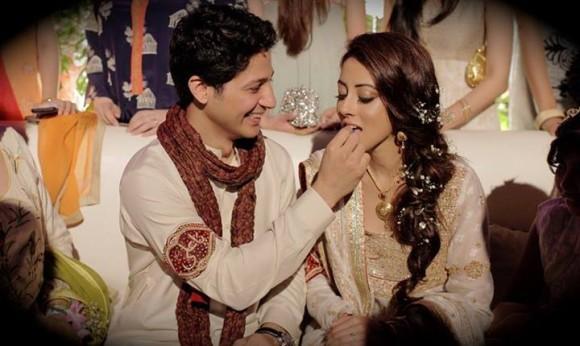 Ainy Jaffri Engagement 1