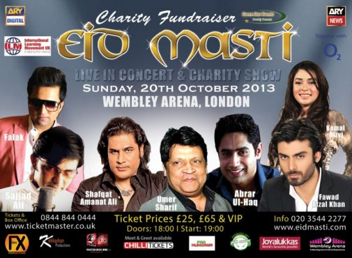 Eid Masti UK Live Show