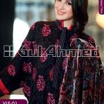 Gul Ahmed Silk Velvet 12