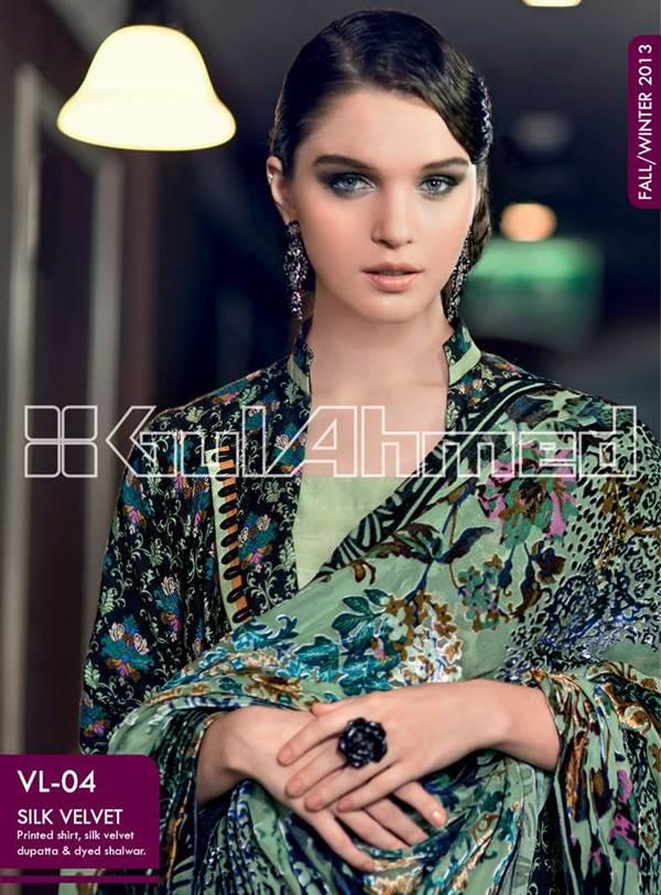Gul Ahmed Silk Velvet 6