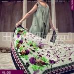 Gul Ahmed Silk Velvet 8