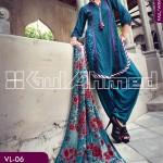 Gul Ahmed Silk Velvet 9
