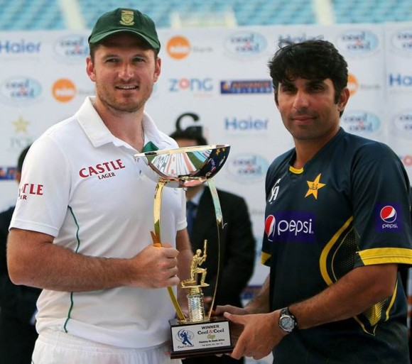 Pakistan South Africa Test Trophy