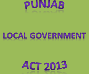 Punjab Local Govt Act 2013