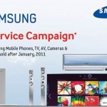 Samsung Electronics Offers Free Service in Pakistan