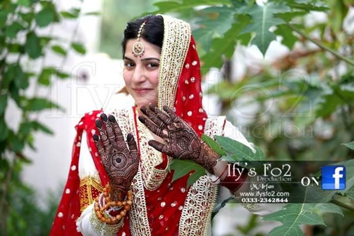 Sanam Baloch Wedding Mehnid