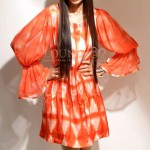 Shibori Winter Dress 5