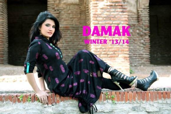 Damak Winter Dress 1